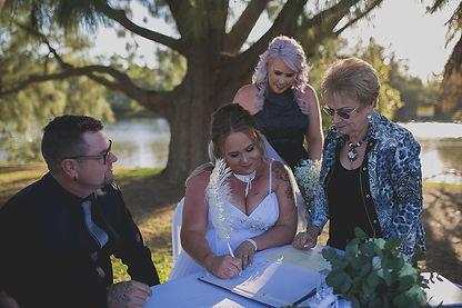 Club Macquarie Wedding