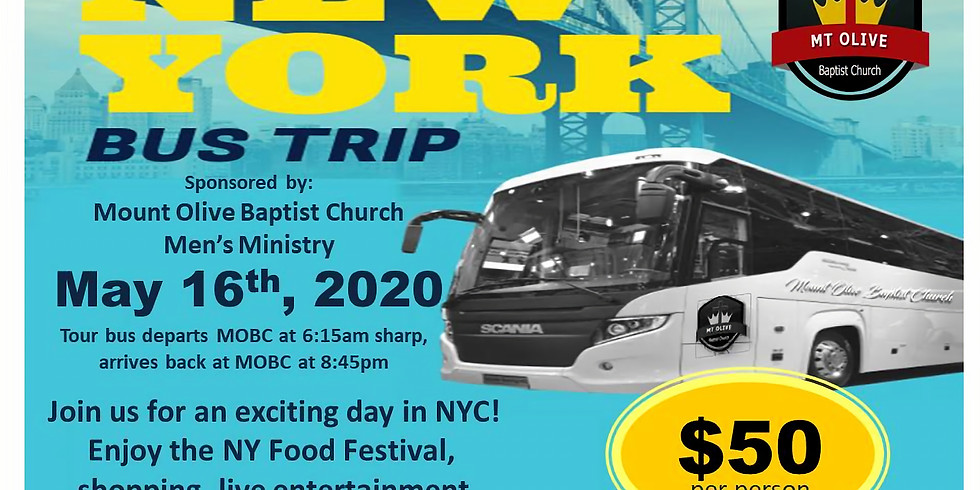 New York Bus Trip