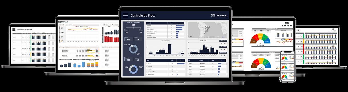 Dashboards-Logistica-Operações-Controle de Frota-Frota