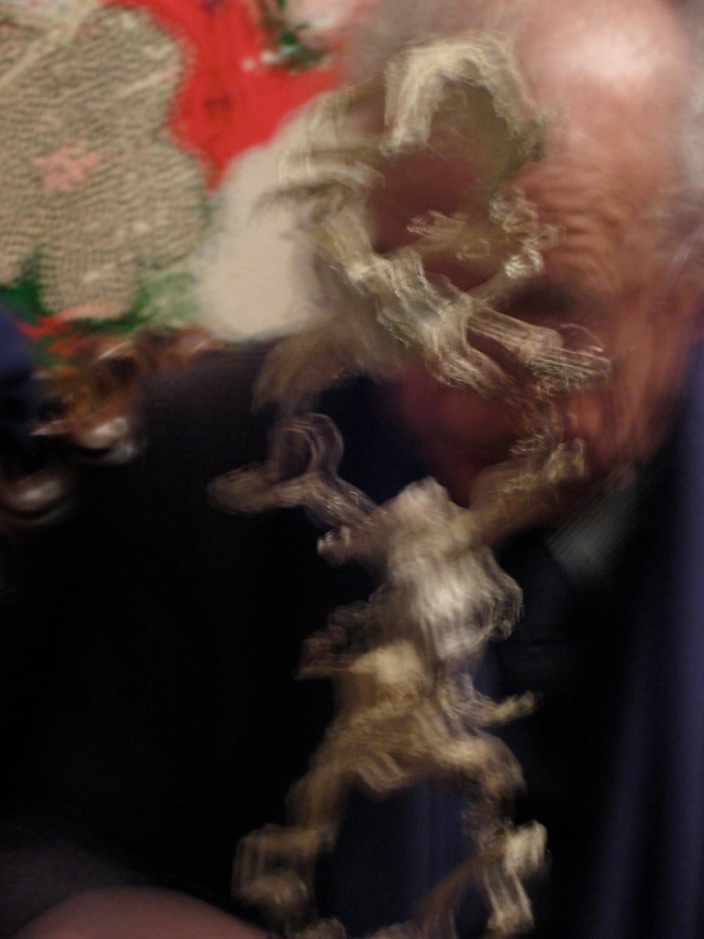 Daniel Spoerri und die silbernen Frösche