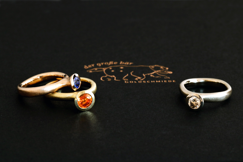 "Safir & Diamant Ringe ""Life"""