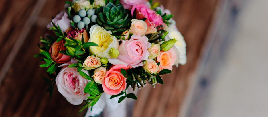 Classic Round Bridal Bouquets Ideas