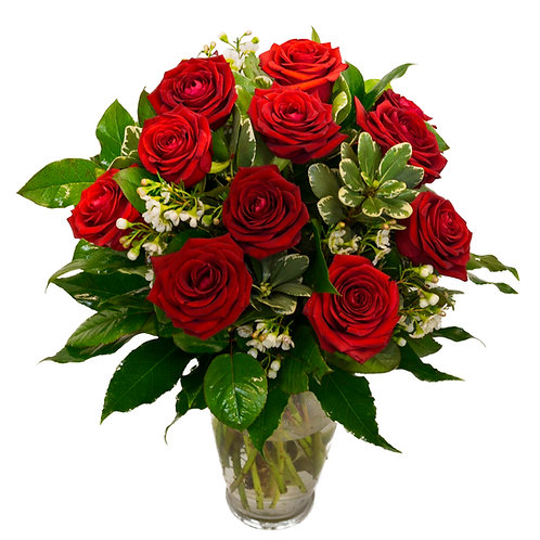 THANK YOU RED ROSES