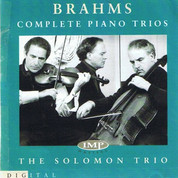 Rodney Friend and the Solomon Trio Brahm