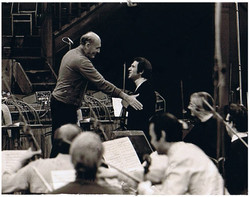 Rodney Friend with George Solti