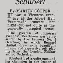 BBC Proms Rodney Friend Review-Schubert