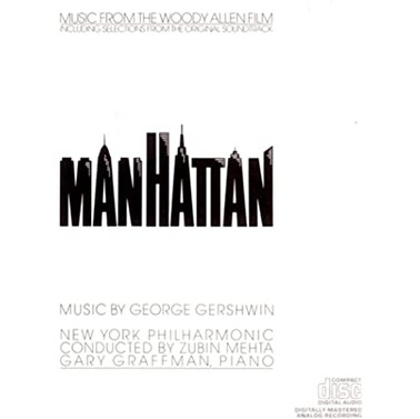 Woody Allen Manhattan Soundtrack-New Yor