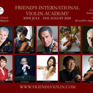 Friend's International Violin Academy 2020