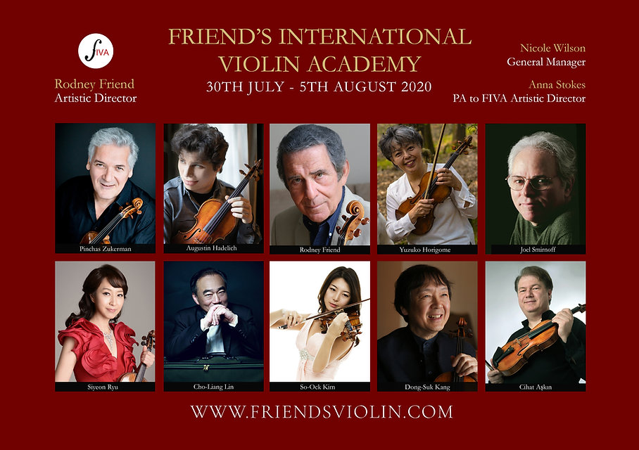 Friend's International Violin Academy 20