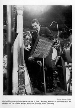 Rodney Friend and Duke Ellington