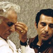 Leonard bernstein and Rodney Friend
