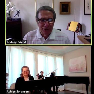 FIVA Masterclass with Rodney Friend & Pr