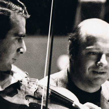 Rodney Friend with Bernard Haitink
