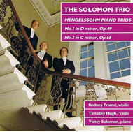 Rodney Friend-Solomon Trio Rodney Friend