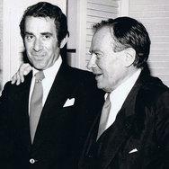 Rodney Friend with Henryk Szeryng