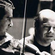 Rodney Friend and Bernard Haitink photo.