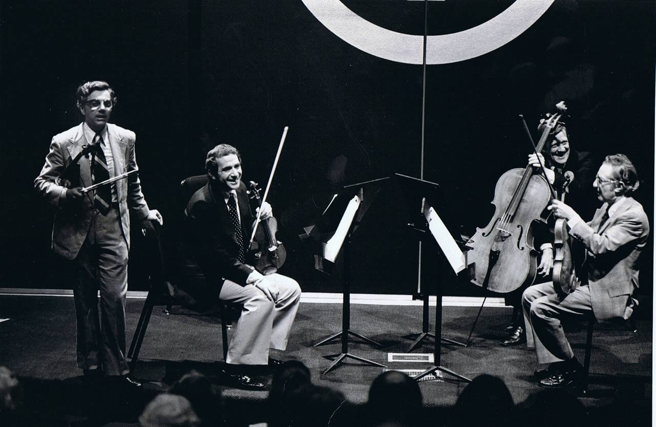Rodney Friend and the New York philharmonic String Quartet