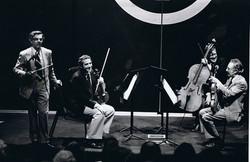 Rodney Friend and the New York philharmonic String Quartet