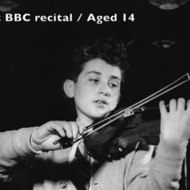 Rodney Friend-1st BBC Recital Aged 14