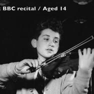 Rodney Friend-1st BBC Recital Aged 14