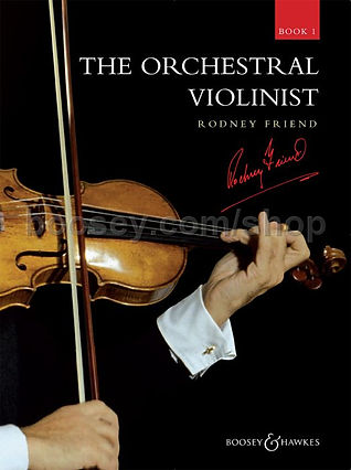 The Orchestral Violinist 1 by Rodney Fri