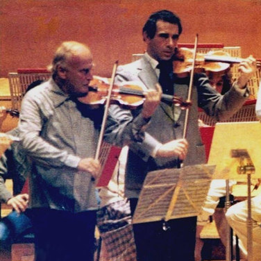 Rodney Friend and Yehudi Menuhin