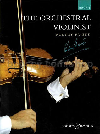 The Orchestral Violinist 2 by Rodney Fri
