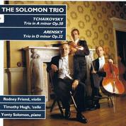 Rodney Friend and the Solomon Trio-Tchai