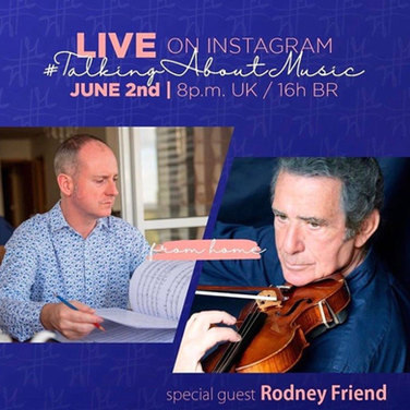 Neil Thomson and Rodney Friend Live on Instagram