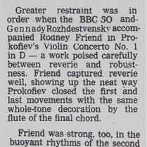 Proms-Prokofiev Concerto-BBCSO-Rodney Friend
