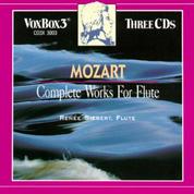 Mozart Complete works for Flute Renee Siebert-Rodney Friend Violin