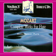 Mozart Complete works for Flute Renee Siebert-Rodney Friend Violin