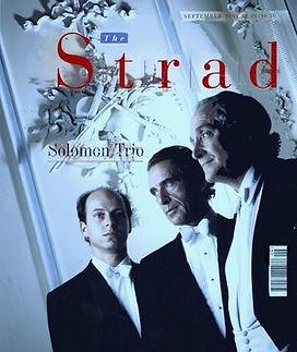Rodney Friend-The Strad-The Solomon Trio