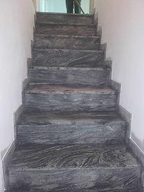Stufen Innenbereich aus Granit