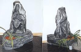Kleiner Springbrunnen aus Granit