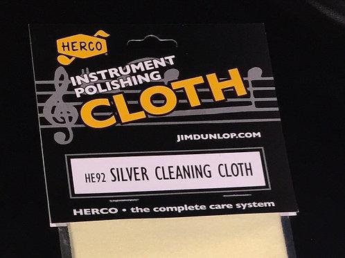Silver Instrument Polishing Cloth