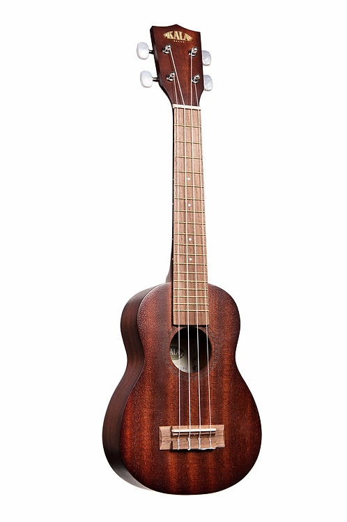 Satin Mahogany Long-Neck Soprano Ukulele