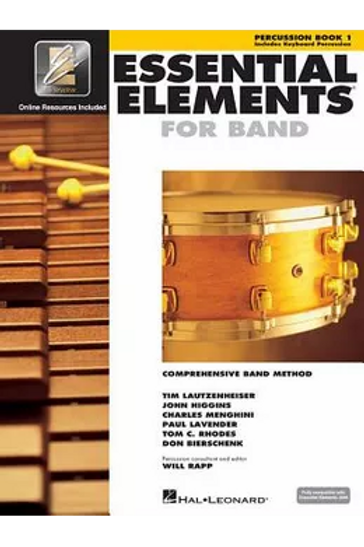 Essential Elements Book 1(Percussion)