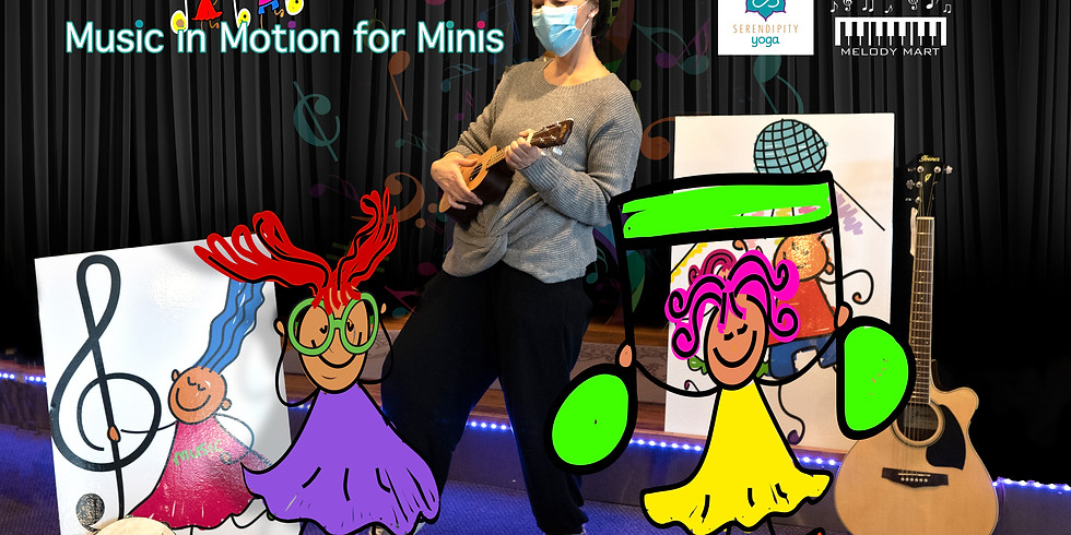 Music in Motion for Minis (Single Class)