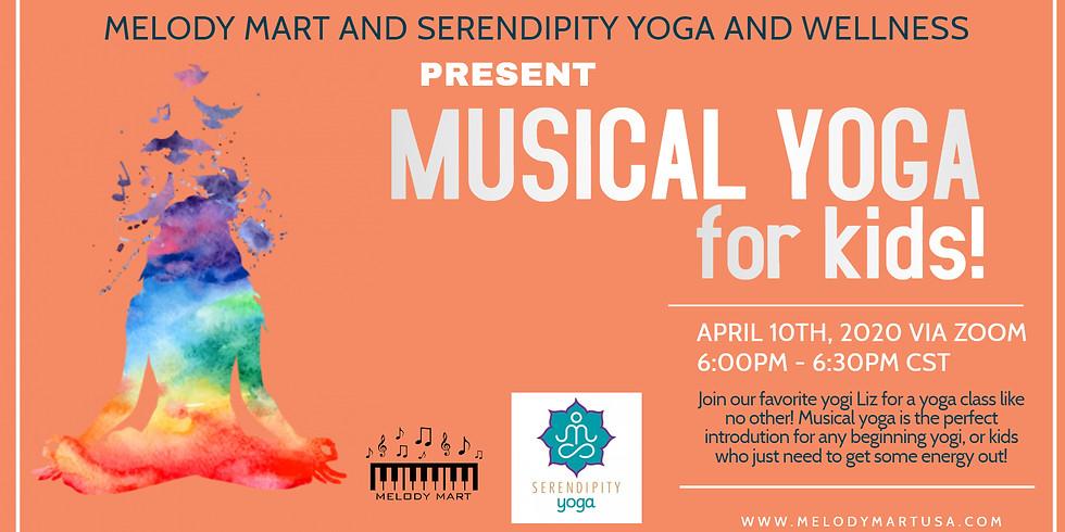 Virtual Musical Yoga for Kids