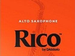 3 Pack Rico Alto Sax Reeds