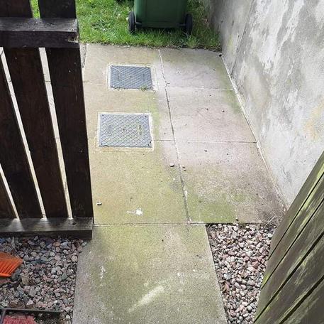 NA Garden Care   Lurgan   Paving   Power washing Before