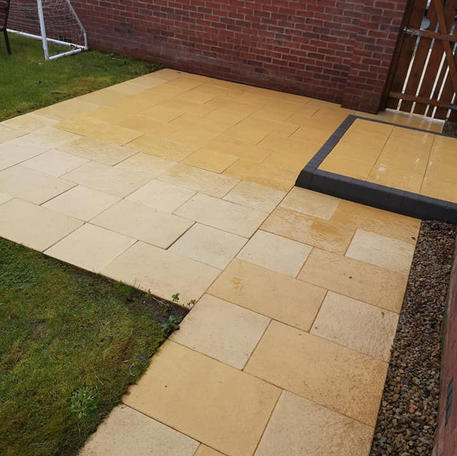 NA Garden Care   Portadown   Pressure Washing - Patio After