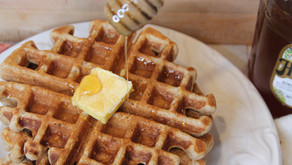 The Best Sourdough Waffles with Kefir  (VIDEO)