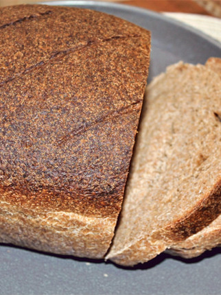 100% Whole Wheat Sourdough Sandwich Bread (VIDEO)