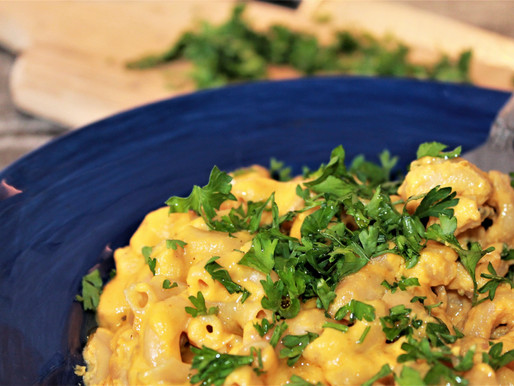 Vegan, Gluten-Free Mac and Cheese with Annatto Seeds (VIDEO)
