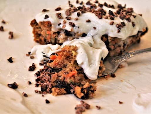 Gluten and dairy free carrot cake (VIDEO)