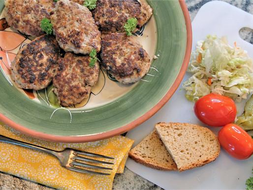 "Ukrainian style meatballs, called ""kotletu"" (VIDEO)"