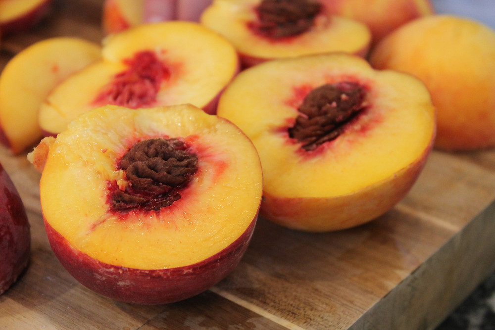 peaches halves