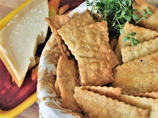 Four Ingredients Herb Crackers (VIDEO)